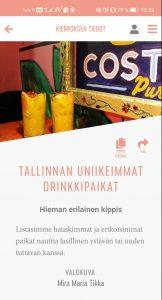 Tallinna applikaatio