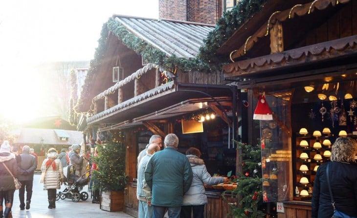 Getting a proper Christmas mood at the #christmasmarket of #Hamburg
