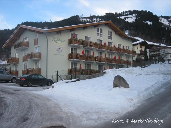 Hotel Rudolfshof, Kaprun. Kuva: ©-Matkoilla-blogi