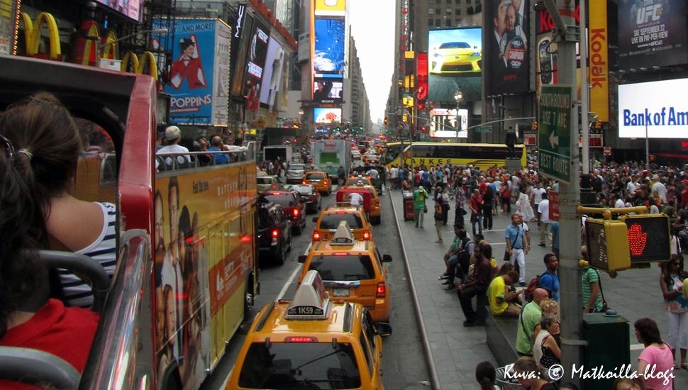 Times Square, New York 2012. Kuva: © Matkoilla-blogi