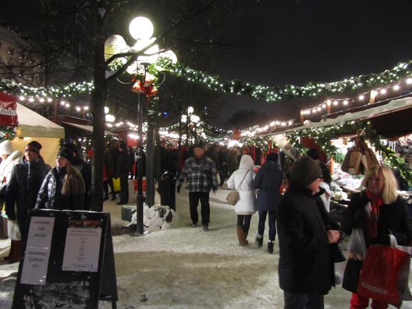 Kungsträdgårdenin joulumarkkinat. Kuva: © Matkoilla-blogi