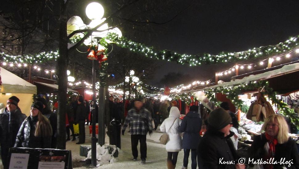 Joulumarkkinat Kungsträdgårdenissa 2012. Kuva: © Matkoilla-blogi