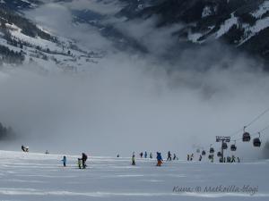 Mitä ihmettä, mistä pilvet tulivat tuohon väliin...? Kuva: © Matkoilla-blogi