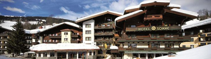 Vital-Hotel Sonne, Saalbach. Kuva: Vital-Hotel Sonne