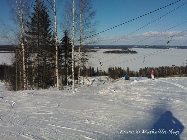 Aavaa näkymää Vesijärven yli. Kuva: © Matkoilla-blogi