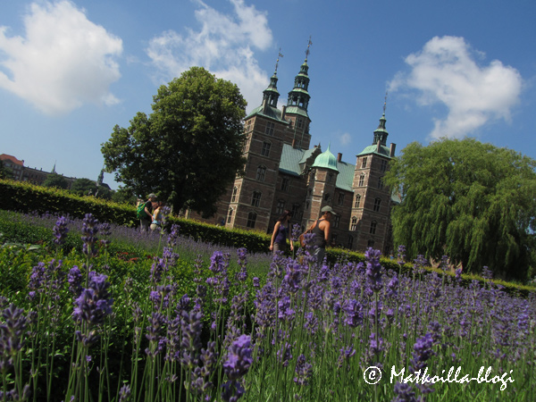 Rosenborgin linna. Kuva: © Matkoilla-blogi