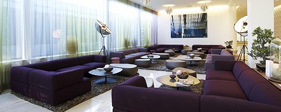 Livingroom @ Clarion Hotel Arlanda. Kuva: Clarion Hotel Arlanda