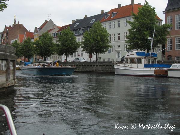 Kööpenhamina kanavilla... Kuva: © Matkoilla-blogi