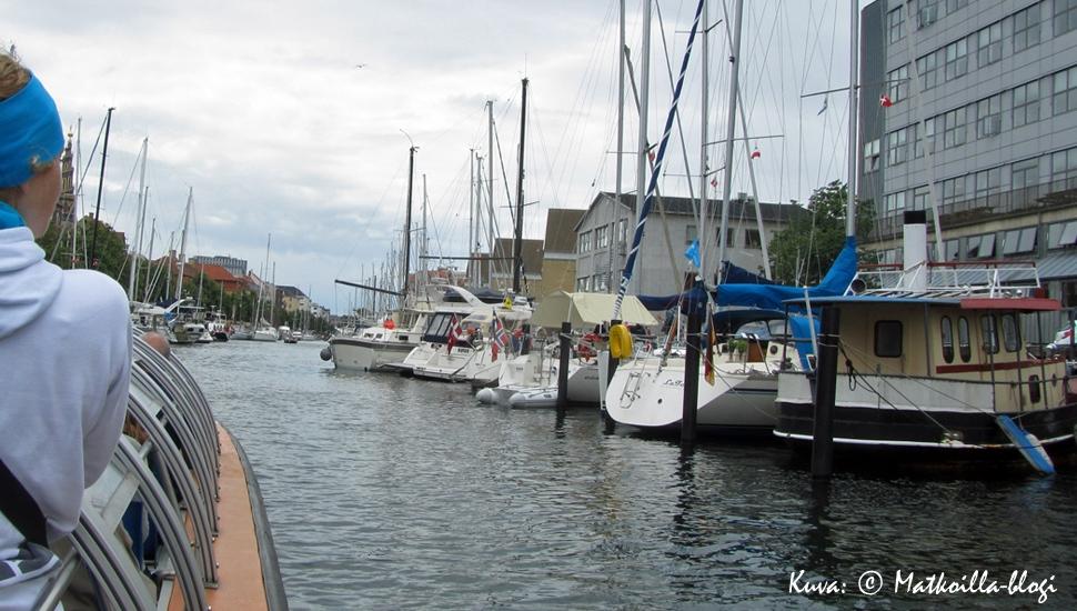 Kööpenhaminan kiertoajelu veneellä. Kuva: © Matkoilla-blogi