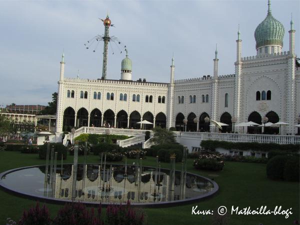 Tivolin Itämainen palatsi, joka pitää sisällään nykyään kuuluisan Nimb-ravintolan. Kuva: © Matkoilla-blogi