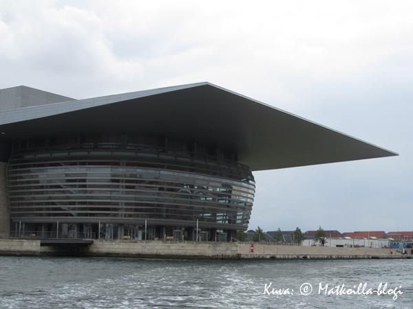 Kööpenhaminan uusi oopperatalo. Kuva: © Matkoilla-blogi