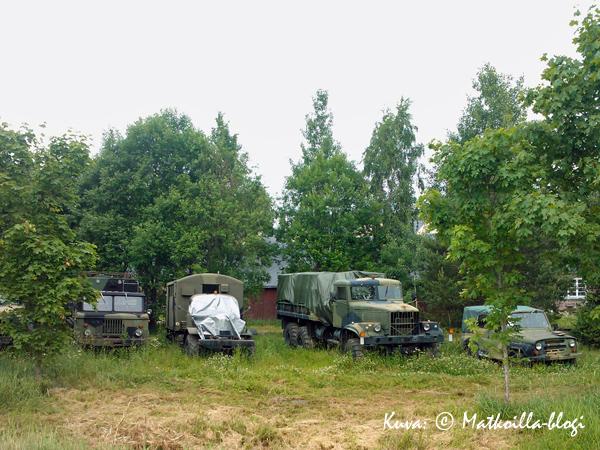 ...ja lisää hevosvoimia malllia SA-INT. Olin jo unohtanut kyseisen museon. Kuva: © Matkoilla-blogi