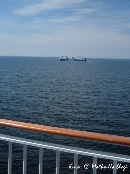Perille Gdanskiin matkasimme Finnlinesin MS Nordlinkillä. Kuva: © Matkoilla-blogi