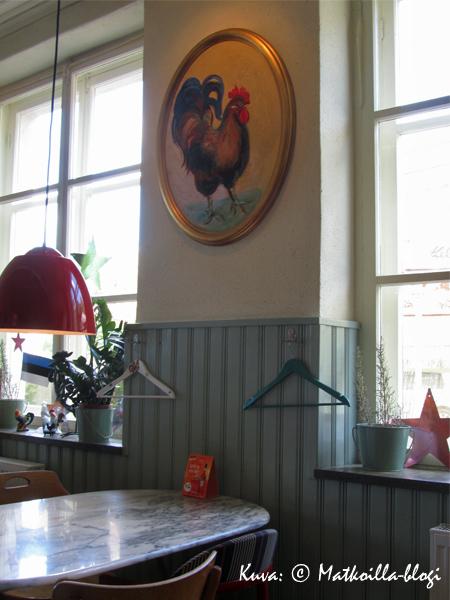 Kuka siellä seinällä? Kuva: © Matkoilla-blogi