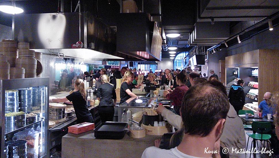 Tukholma: K25 -ruokahalli. Kuva: © Matkoilla-blogi