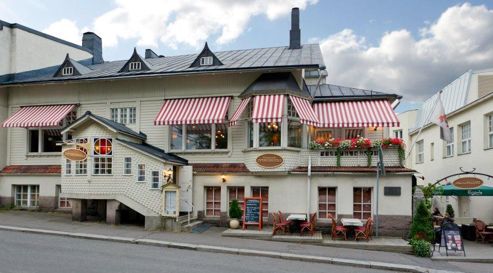 Ravintola Piparkakkutalo (kuva lainattu Ravintola Piparkakkutalon Facebook-sivulta)