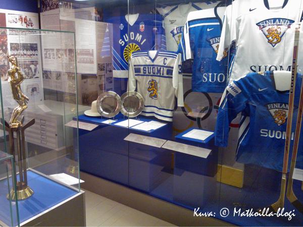 Suomen Jääkiekkomuseo Vapriikissa. Kuva: © Matkoilla-blogi