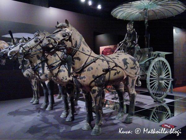 Kiinan Keisarin vaunut. Kuva: © Matkoilla-blogi