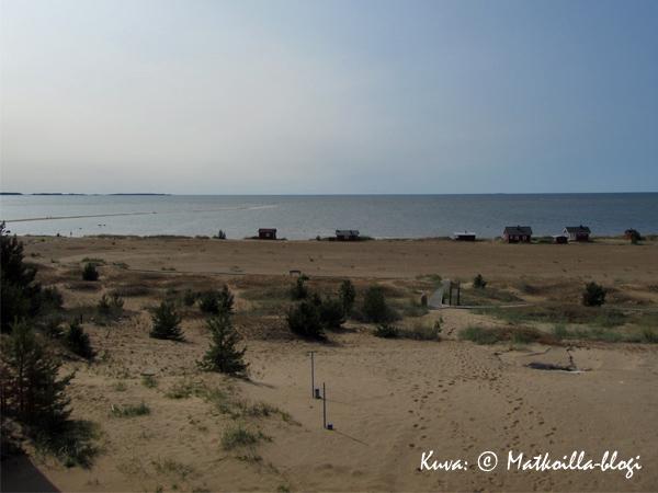 Kalajoen aavaa merimaisemaa. Kuva: © Matkoilla-blogi