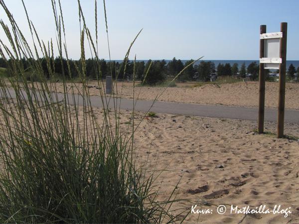 Kalajoen hiekkasärkät. Kuva: © Matkoilla-blogi