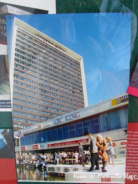 Kuka muistaa vielä Viru-hotellin yhteydessä olleen pienen kauppakeskuksen? Kuva: © Matkoilla-blogi