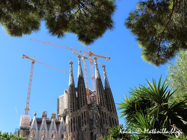 Sagrada Familia näkemiin - toivottavasti näemme jälleen. Kuva: © Matkoilla-blogi
