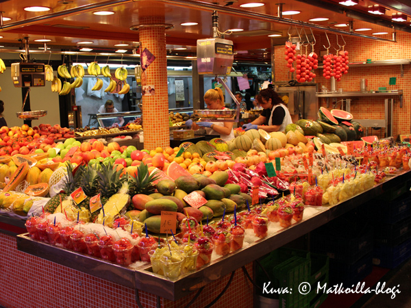 Makeannälkään tuoretta hedelmää? Kuva: © Matkoilla-blogi