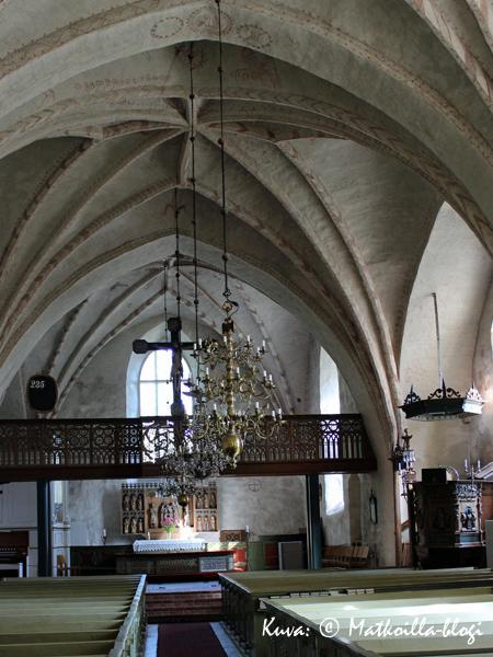 Korppoon kirkko. Kuva: © Matkoilla-blogi