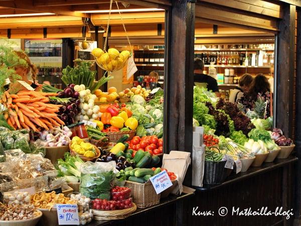 Vihanneksia.. . Kuva: © Matkoilla-blogi