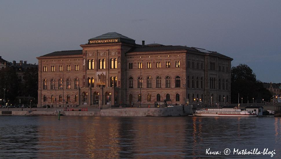 Tukholma: Nationalmuseum syysiltana. Kuva: © Matkoilla-blogi