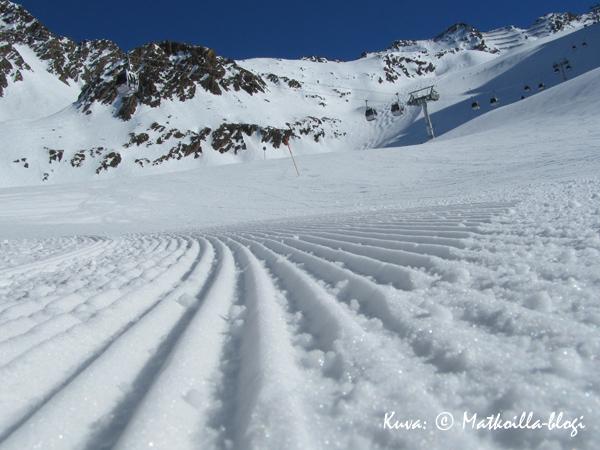 Valkoiset rinteet kutsuvat taas pian. Kuva: © Matkoilla-blogi
