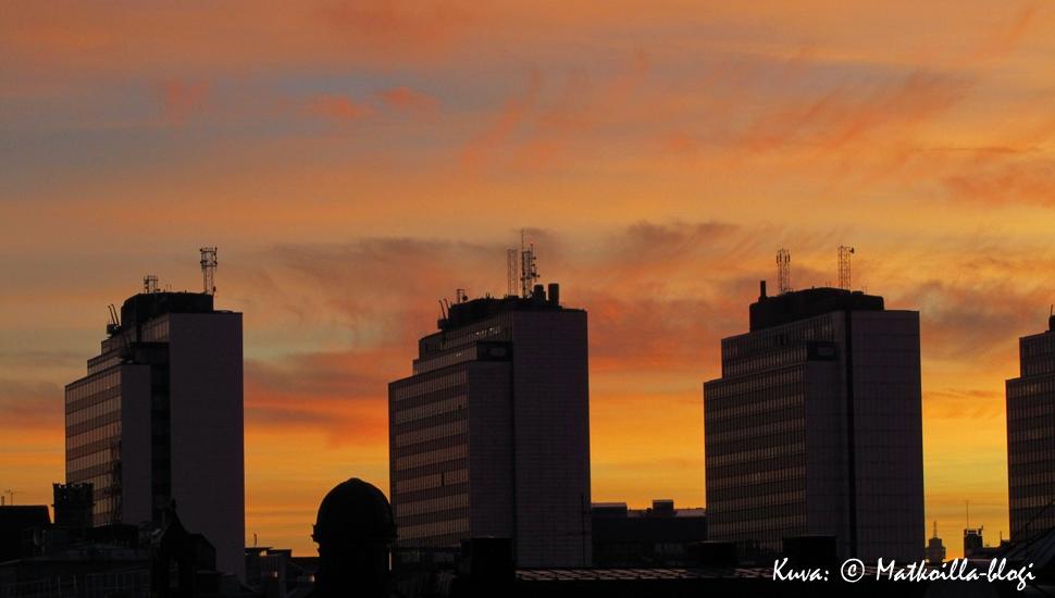 Tukholma: Hötorgsskraporna syysiltana. Kuva: © Matkoilla-blogi