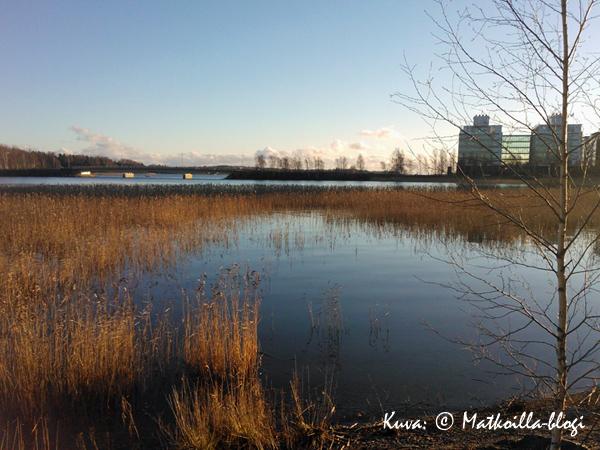 Näkymä Nuottaniemen suuntaan. Kuva: © Matkoilla-blogi