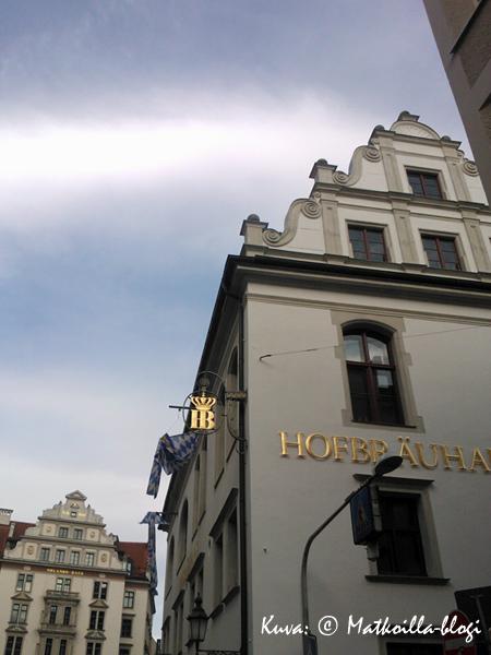 In München steht ein Hofbräuhaus... Kuva: © Matkoilla-blogi