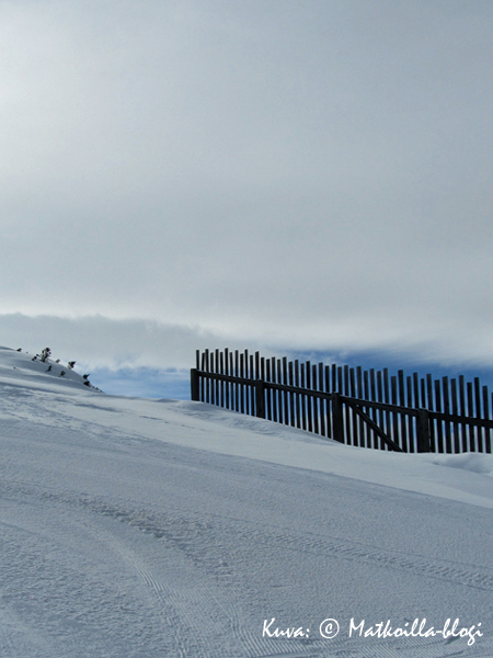Shuttleberg-alueen huipulla, Mooskopfilla. Kuva: © Matkoilla-blogi
