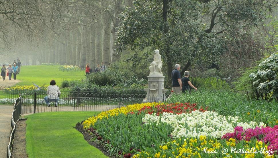 Kuukauden kuva: Hyde Park, Lontoo. Kuva: © Matkoilla-blogi
