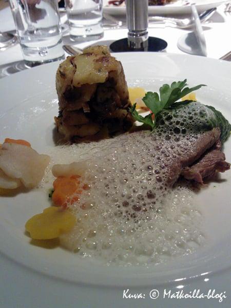 Tafelspitz - aina mieluinen paikallinen ruoka. Kuva: © Matkoilla-blogi