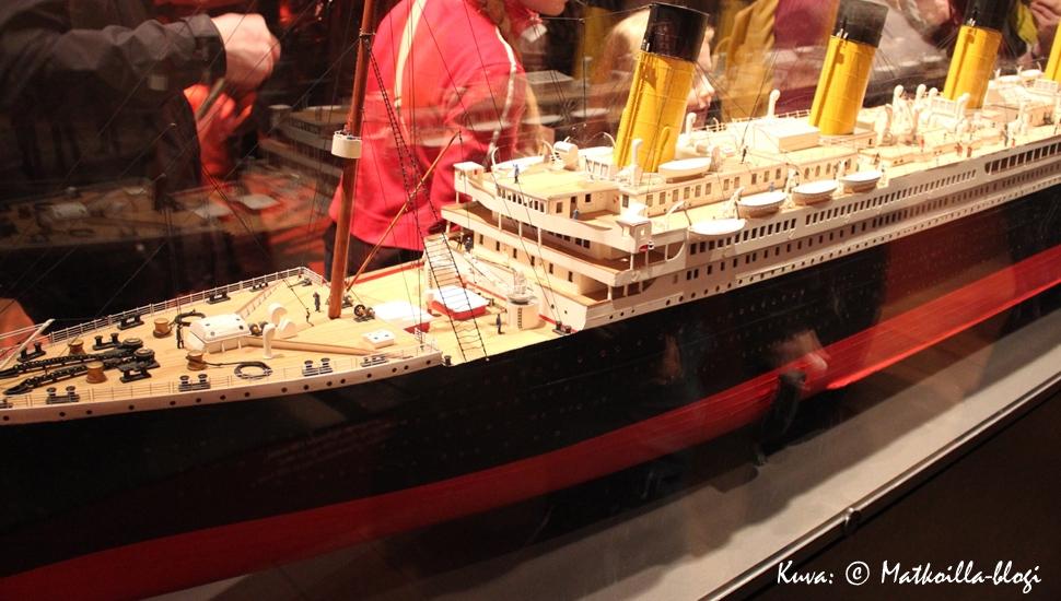Titanic-näyttely, Tallinna. Kuva: © Matkoilla-blogi