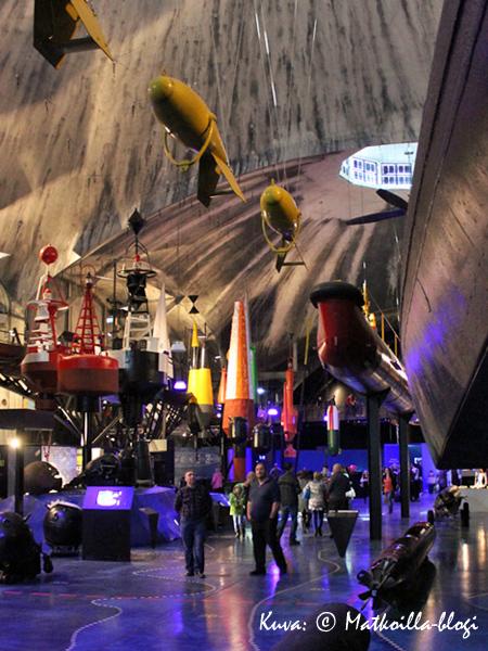 Lennusadam-museon päähalli. Kuva: © Matkoilla-blogi