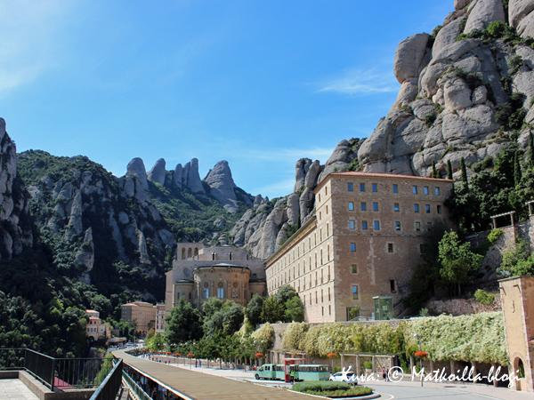 Montserrat_luostari_1_Kuva_c_Matkoilla_blogi