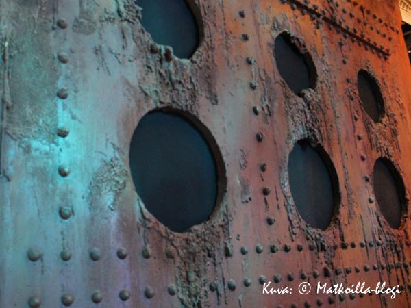 Titanicin hylky lepää meren syvyyksissä. Kuva: © Matkoilla-blogi