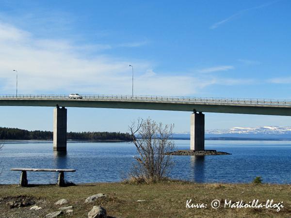 Rödön silta Jämtlannissa. Kuva: © Matkoilla-blogi
