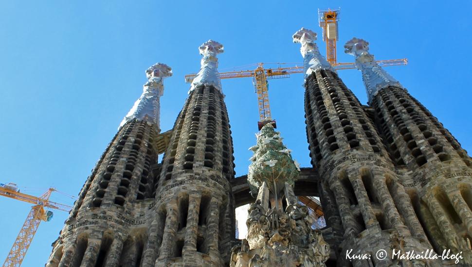 Barcelona - Sagrada Familian tornit. Kuva: © Matkoilla-blogi