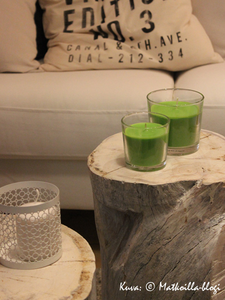 Sohvapöytä, mallia pyöreä… Kuva: © Matkoilla-blogi