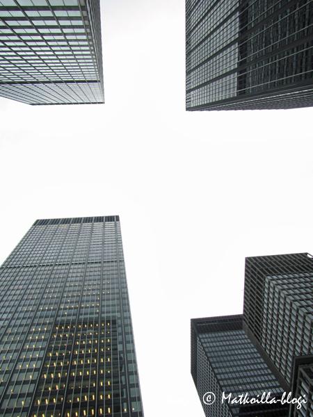New Yorkin pilvenpiirtäjät. Kuva: © Matkoilla-blogi