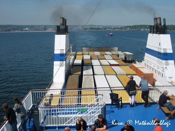 Gdynia jää taakse. Kuva: © Matkoilla-blogi