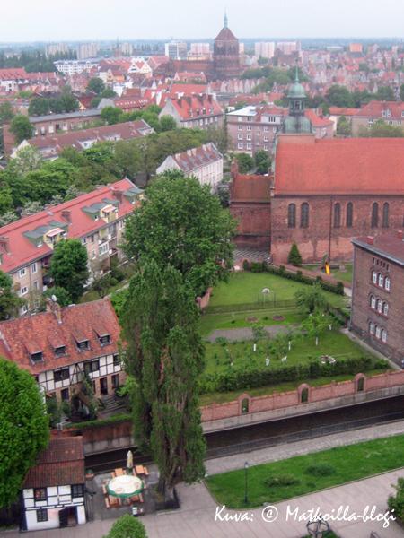2_Gdansk_Hotelliikkunasta_Kuva_c_Matkoilla_blogi