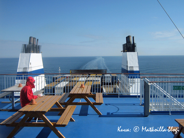 MS Nordlinkin aurinkokansi. Kuva: © Matkoilla-blogi
