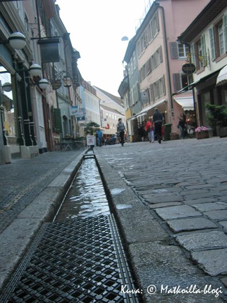 Yksi Freiburgin tunnusmerkeistä: Bächele. Kuva: © Matkoilla-blogi