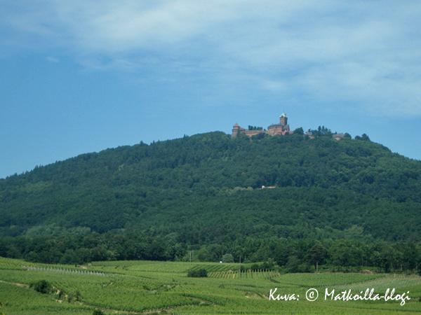 Hæut Kœnigsburgin linna. Kuva: © Matkoilla-blogi